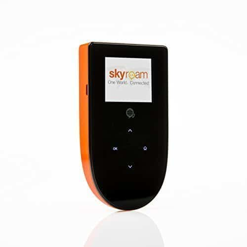 Skyroam Mobile Hotspot: Global WiFi // Unlimited Data // Connect 5 Devices // Pay-as-you-go // SIM-Free Coverage in Europe, North and South America, Asia, Africa, Australia