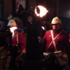 hasting bonfire and procession