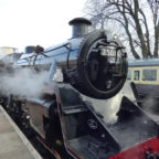 steam train travel Devon
